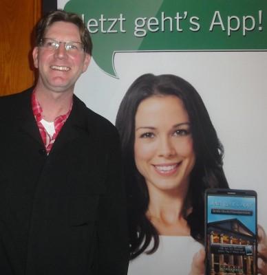 Der Drittplatzierte, Daniel Krämer, mit Lady App.