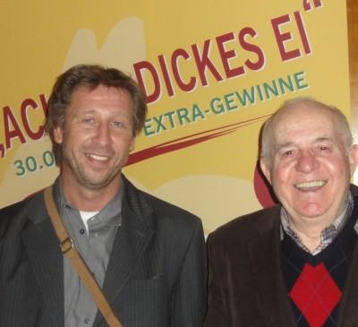 Thomas Benz (1) und Albert Ushky (3)