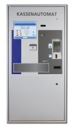 HESS präsentierte den Kassenautomaten HESS MultiPay 200, der speziell in Bibliotheken zum Einsatz kommt.