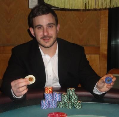 Der strahlende Sieger Pierre Alexander.