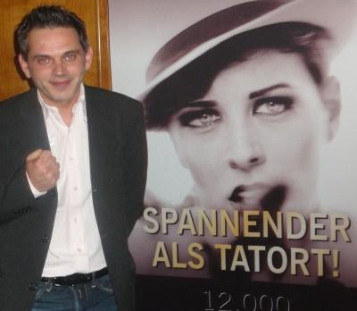 Der Turniersieger Georgios Tzimas