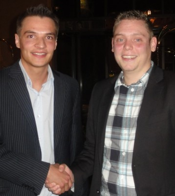Daniel Bätz (1) und Fabian Koch (2)