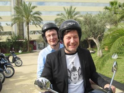 Lars Rogge und Tim Wittenbecher