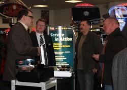 Auch der Stand des E-Zigaretten-Anbieters Snoke war gut besucht.