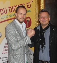 Der Zweitplatzierte mit dem Turniersieger Stefan Seufer