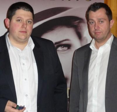 Steffen Marschalleck (3) und Michael Esser (2)