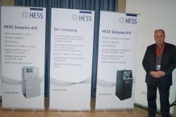 """Erik De Kat präsentierte die """"HESS Scorpion""""-Produkte auf dem Slot Summit"""