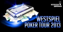 WestSpiel informiert: WestSpiel Poker Tour 2013: Deutschlands große Turnierserie startet in die achte Saison