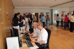 Das Werksarztzentrum Minden gab nützliche Tipps zur Gestaltung eines ergonomischen Arbeitsplatzes.