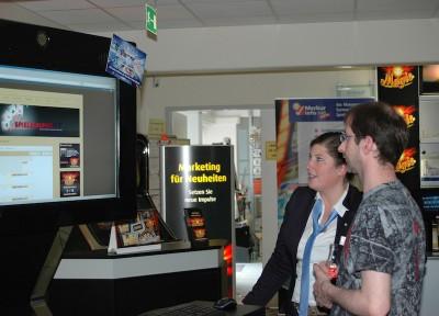 Auch im Online-Bereich erhielten die Besucher der Marketing-Aktionstage fachkundige Unterstützung.