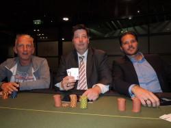 V.l.n.r.: Josef Huber (Platz 3), Fritz Grigo (Platz 1), Bernd Kaserer (Platz 2) (Foto: Mangold)