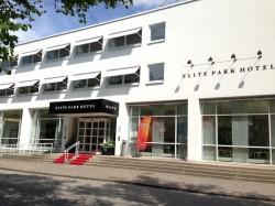 Im Elite Park Hotel ist die DFB-Frauen-Nationalmannschaft derzeit.