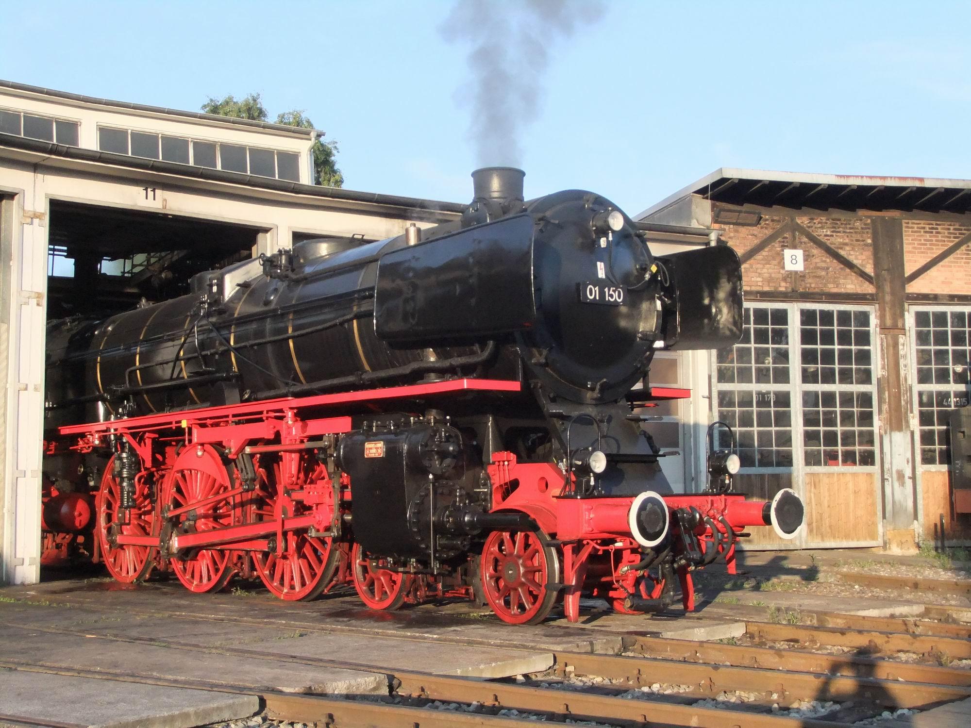 Eisenbahnfans herzlich eingeladen: Der Star der Dampflokomotiven ...