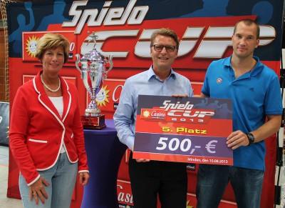 Der TuS N-Lübbecke besiegte im Derby GWD Minden und sicherte sich damit in diesem Jahr Platz 5.