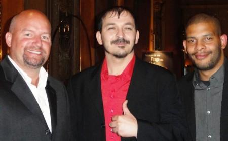 Rodney Allen Hargus (3), Ümit Dalkilic (1) und Tim Kühl (2)