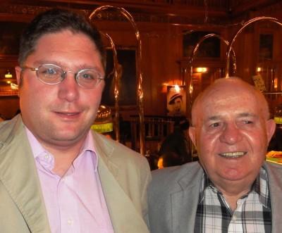 Marc Rindert (3) mit Albert Ushky (2)