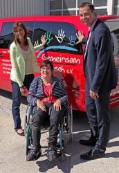 V.l.n.r.: Petra Höcketstaller, Anita Donaubauer und Stephan Mayer.