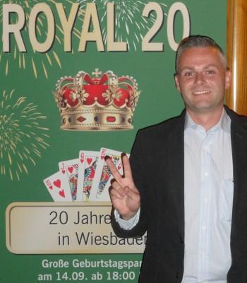 Der entspannte Turniersieger Björn Blossey.