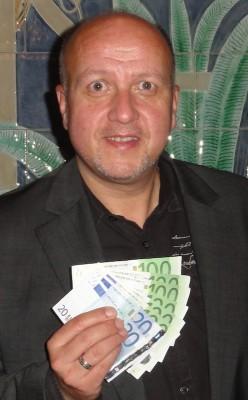 Der Turnier-Dritte Harald Völker