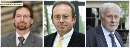 Die Autoren der Studie zu Geldwäsche-Risiken im Online-Poker (v.l.n.r.): Prof. Dr. Reiner Clement, Prof. Dr. Dr. Franz W. Peren und Prof. Dr. Dr.h.c.mult. Friedrich Schneider.