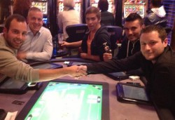 Die glücklichen Jackpot-Gewinner, links Ivo Schedereit, rechts Michael Brünings
