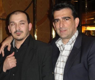 Ümit Dalkilic (2) mit seinem ärztlichen Freund Dr. G.