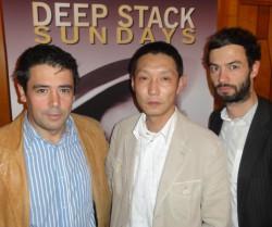 Antonio Armindo (2) – Wei Guo (1) – Tim Niefer (3)