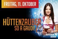 Spielbank Bremen lädt zum Hüttenzauber.