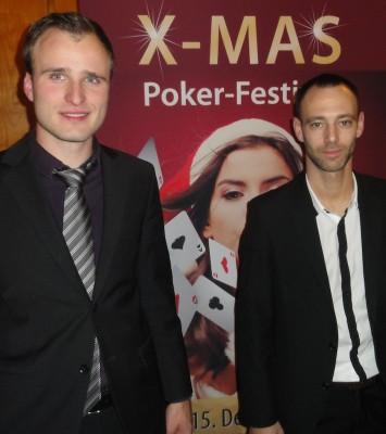 Runner-Up Daniel Kuchenbecker und der Turniersieger Fabrizio Strollo.