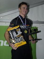"""Maurice Wiegelmann (Team """"Injoy Olsberg"""") ist der Gesamtsieger des """"Pipelineking 2013""""."""