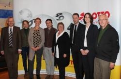 Geschäftsführerin Marion Caspers-Merk begrüßte zusammen mit dem Lotto-Spielerschutz-Team die Mitglieder des neuen Präventionsbeirats in der Stuttgarter Zentrale.