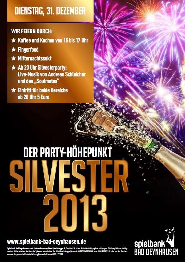 casino bad oeynhausen silvester