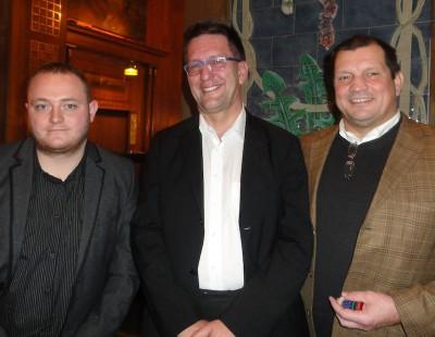 V. Kistner (2) – Phil Jancar (1) – Wolfgang Werft (3)