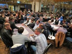 Neue Höchstmarke: Mit 409 Finalisten stieg der Preispool der WestSpiel Poker Tour in ihrer achten Auflage erstmals über 400.000 Euro. (Foto: Robbie Quo / pokerfirma)