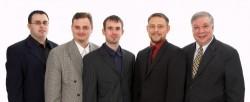 Das Team des ISA-GUIDE v.l.n.r. Denis Jörger, Daniel Guther, André Lohan, Ulli Schmitt und Reinhold Schmitt.