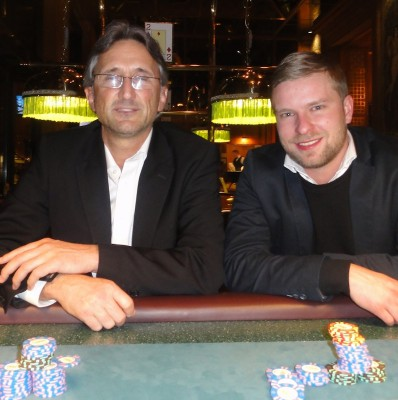 Frank Fingerle (2) und Dmitri Litke (1).
