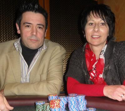 Antonio Armindo (1) und Marion Storch (2)