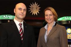 David Schnabel und Katrin Koch