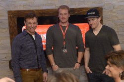 Günther Mader, Chris Beckman, Ted Ligety