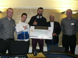 Eugen Kress Poker Palace, Ramzi Zukairat, Oezden Erdinc, Roberto Biz und Martin Frank Poker Palace