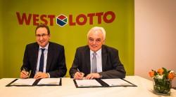 WestLotto-Geschäftsführer Theo Goßner und Walter Schneeloch (Präsident Landessportbund NRW).