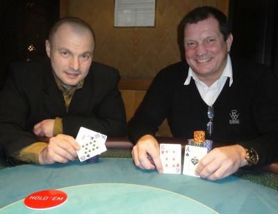 Eduard Dumler (2) und Wolfgang Werft (1)