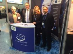 V.l.n.r.: Reinhold Schmitt (ISA-Guide), Norbert Mallien (TQG eGaming), Claudia Köhler (TQG eGaming), Ulli Schmitt (ISA-Guide)