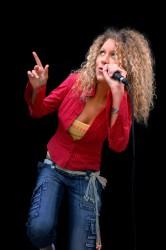 Ausnahmekünstlerin Maya Fadeeva singt im Club 2Hundert. (Foto: Maya Fadeeva)