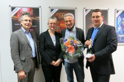 Lars Rogge, Birgit Pitzius, Joachim Weber, Sascha Blodau.