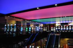 Die neue Galerie mit der innovativen Deckenbeleuchtung.