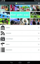 Die Gauselmann Gruppe präsentiert sich in der Espelkamp-App, die Nutzern Informationen rund um die Stadt gibt.