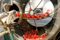 Voll funktionsfähig: die historische Ziehungstrommel im Stuttgarter Lotto-Museum.