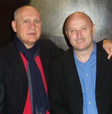 Der Turniersieger Livno Bosna  mit dem Drittplatzierten Frank Simon.