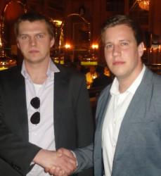 Damian Kukielka (2) und Daniel Kotowski (4)